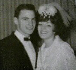 Henry Hill and Karen on their wedding