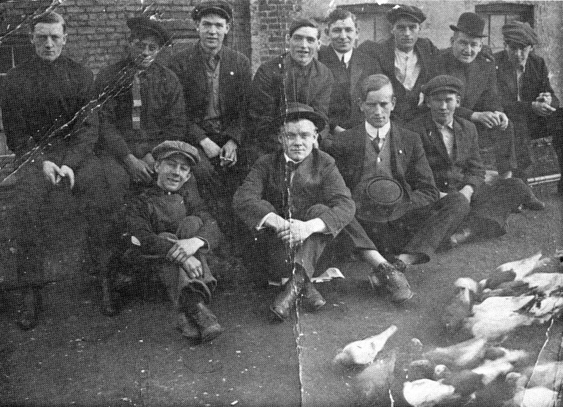 The Gopher Gang 1910.  Owney is the one on the back row leaning in front.