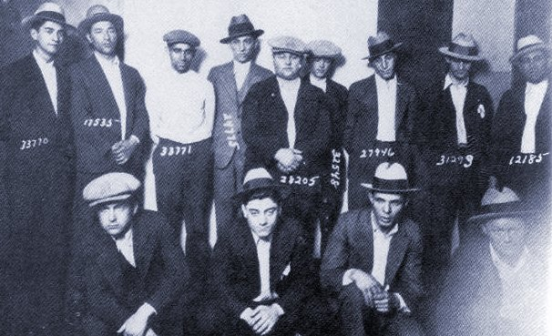 Members of the Purple Gang